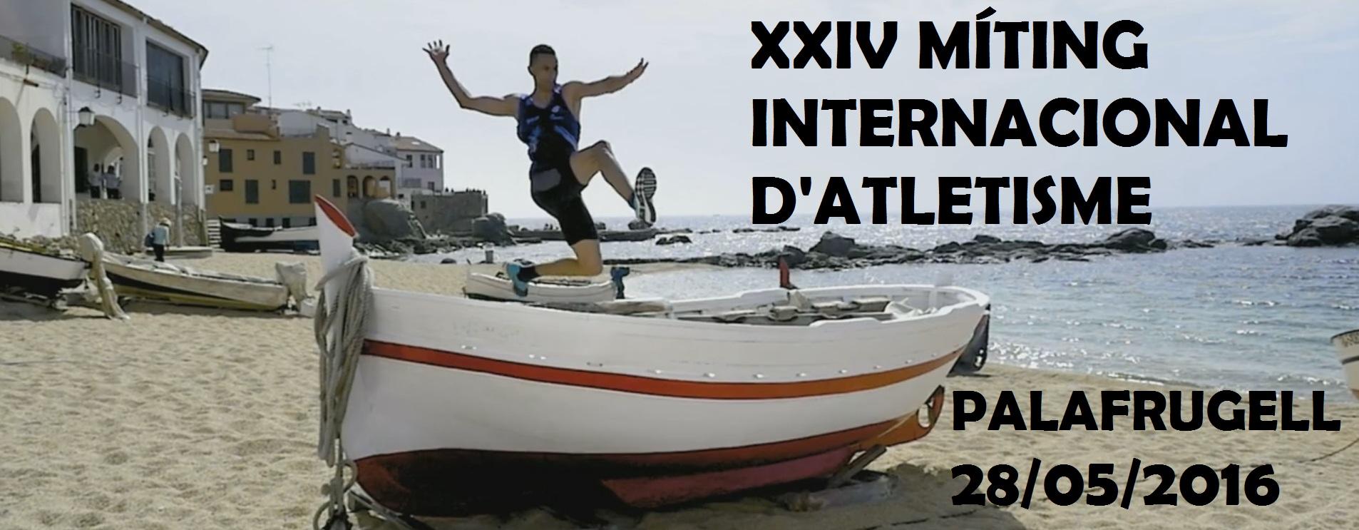 La Unió Colomenca d'Atletisme al XXIV Míting Internacional de Palafrugell