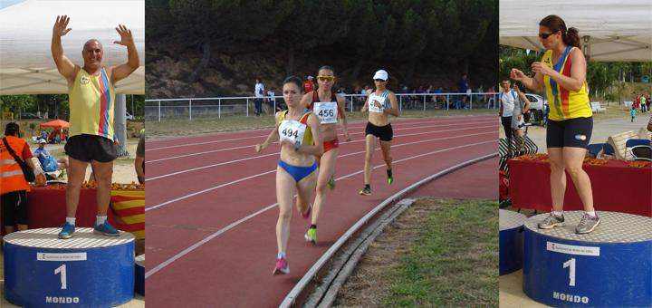 Gran actuació de la UCA al Campionat de Catalunya de Veterans