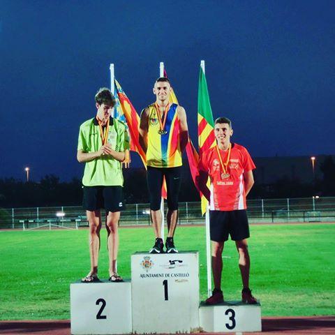 Xesc Tresens, nou campió d'Espanya júnior en salt d'alçada