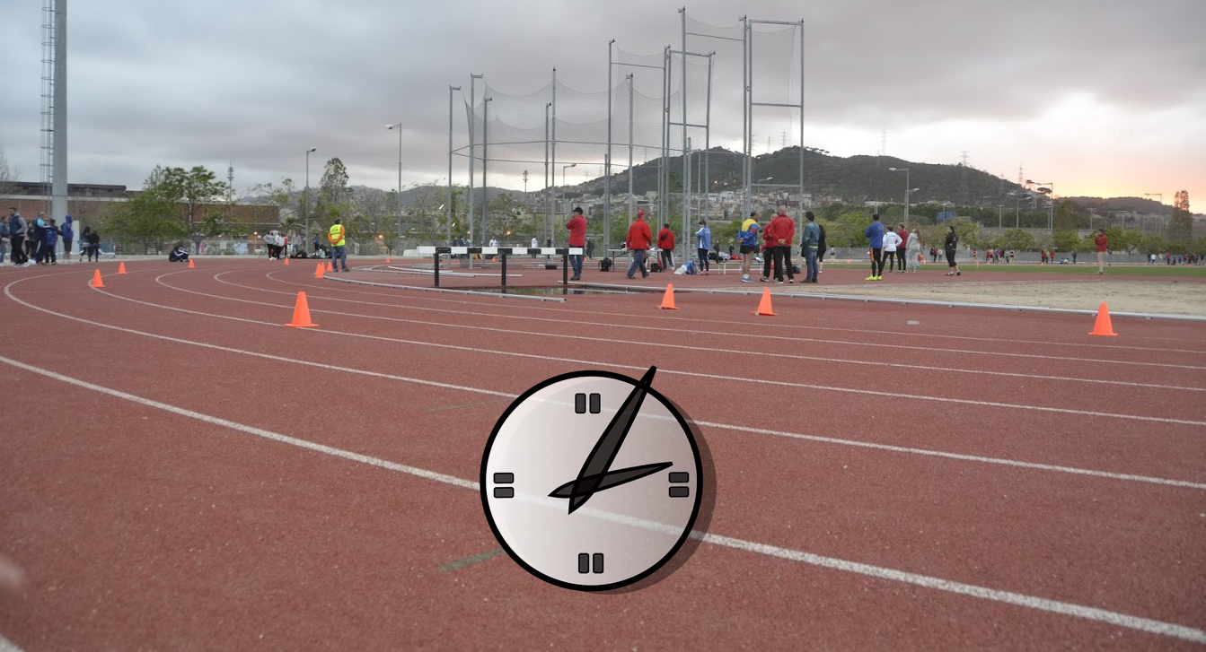 Horaris Estiu 2016 Camp d'Atletisme Antonio Amorós
