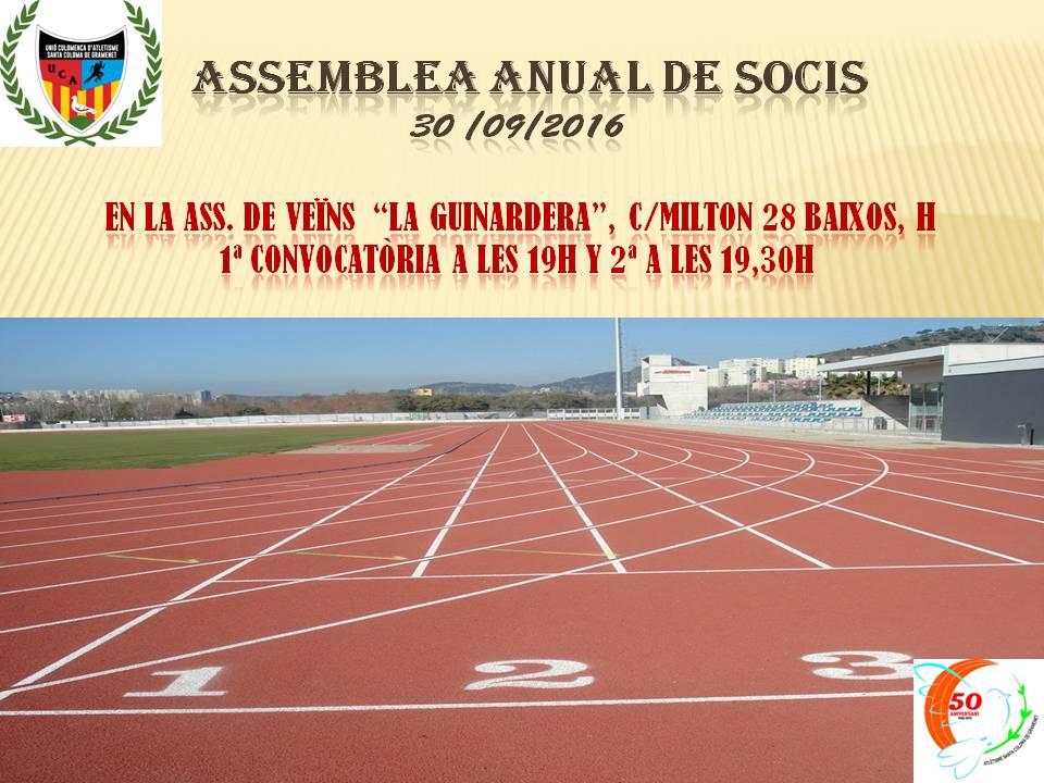 Acta Assemblea Anual de Socis 2016