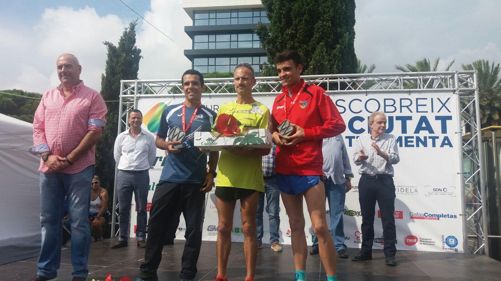 Carlos Jiménez, tercer classificat a la 2a Cursa Mercabarna 5K