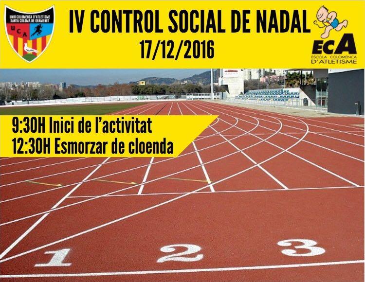IV Control Social de Nadal (informació, inscripcions…)