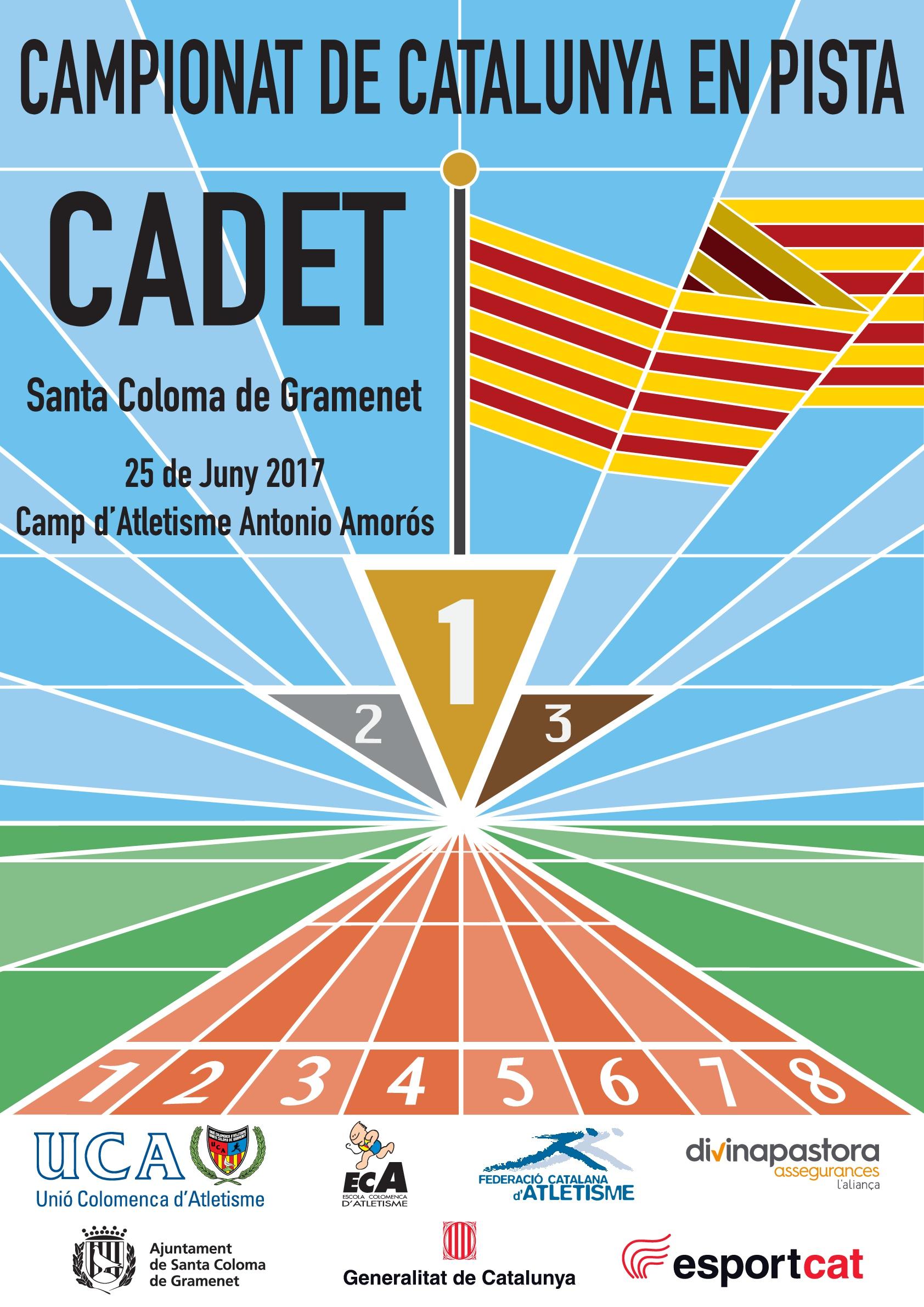 El Campionat de Catalunya Cadet 2017, al Camp d'Atletisme Antonio Amorós