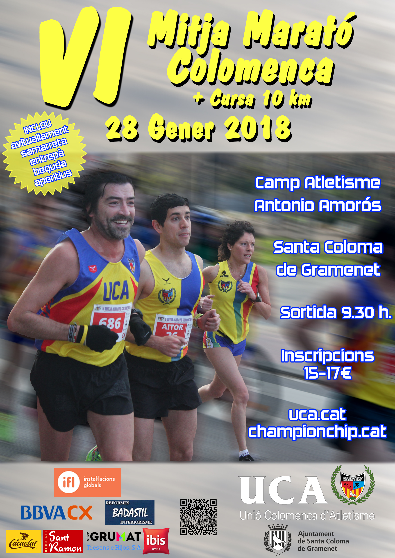 VI Mitja Marató Colomenca (informació, inscripcions…)