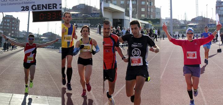 Resultats VI Mitja Marató Colomenca