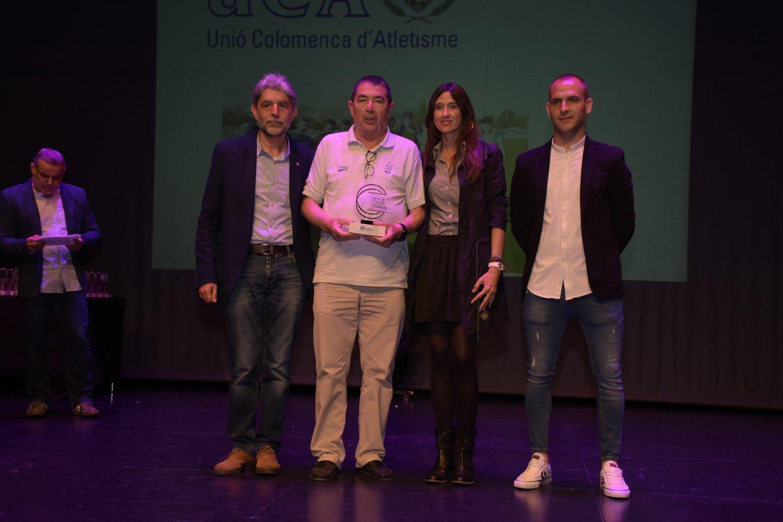La UCA rep el premi a Millor Entitat Esportiva Colomenca