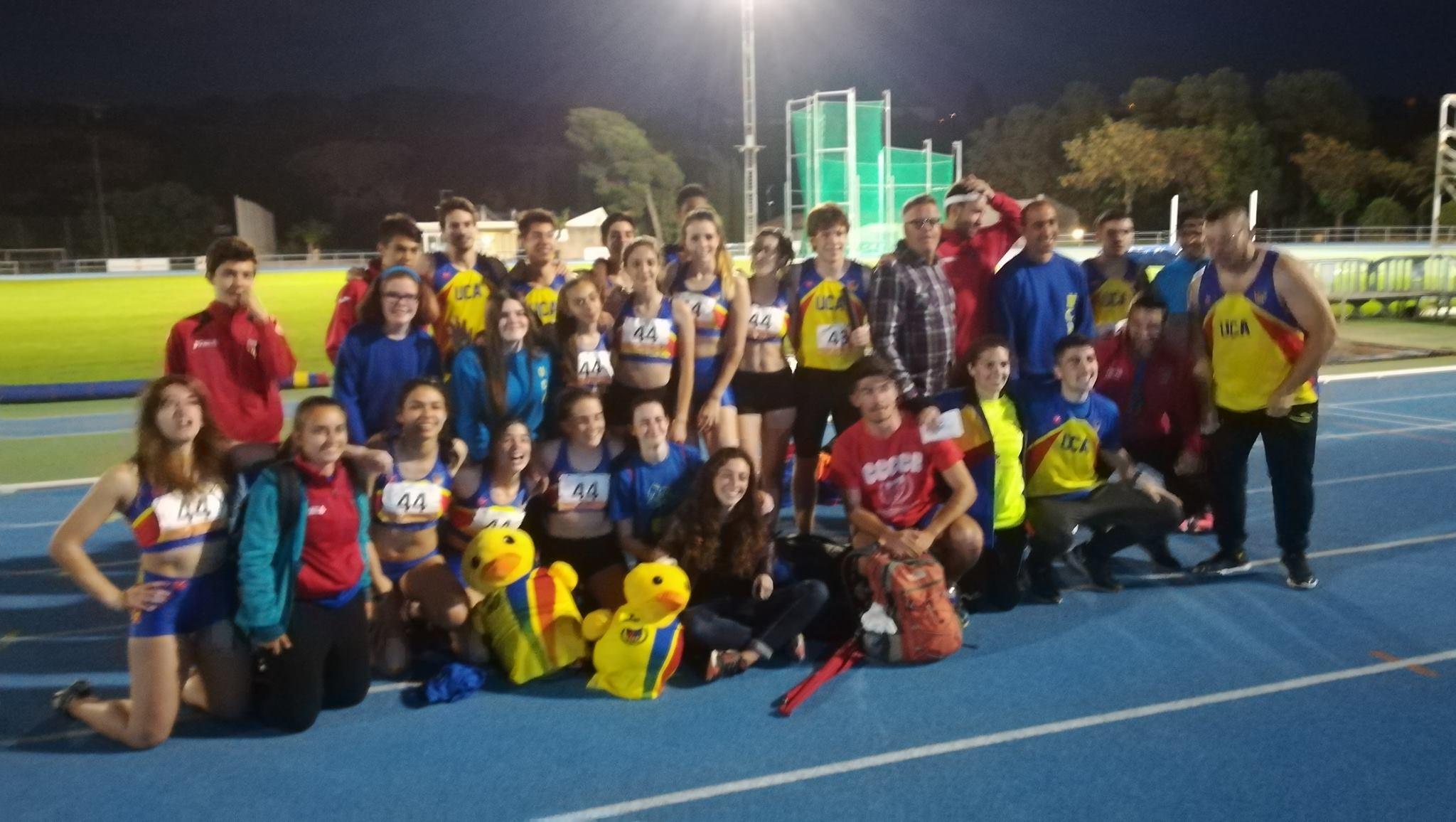 Tercera posició de la UCA al Campionat de Catalunya de Clubs 2018 Final B!