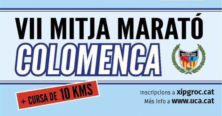 VII Mitja Marató Colomenca + 10K (informació, inscripcions…)
