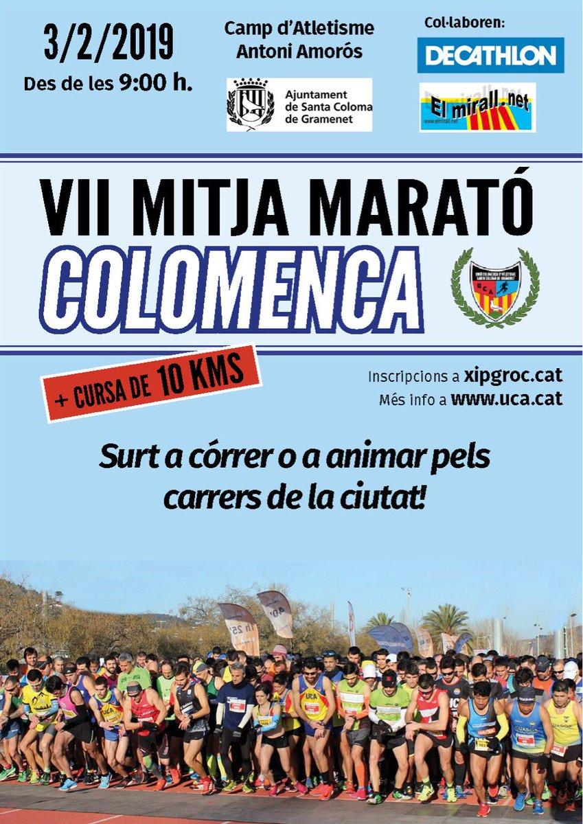 VII MITJA MARATÓ COLOMENCA + 10K