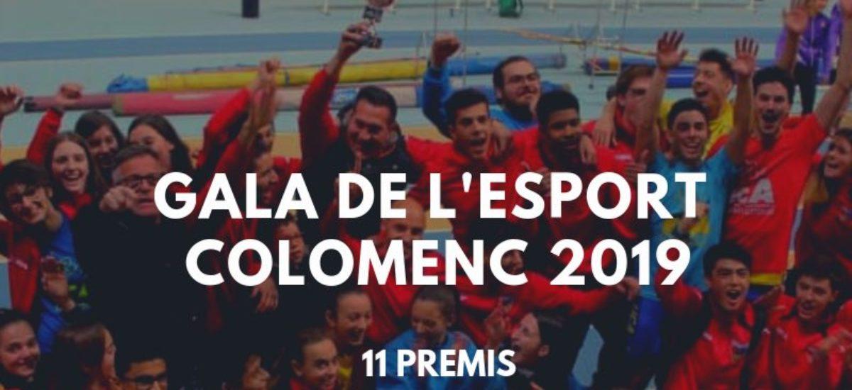 La UCA, a la Gala de l'Esport Colomenc 2019