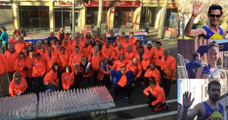 La UCA, a la Marató de Barcelona 2019