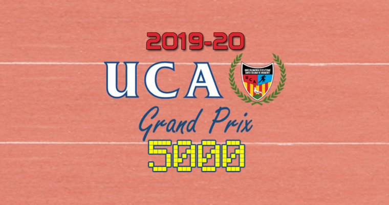 Classificació General Grand Prix 5000 Temporada 2019-2020