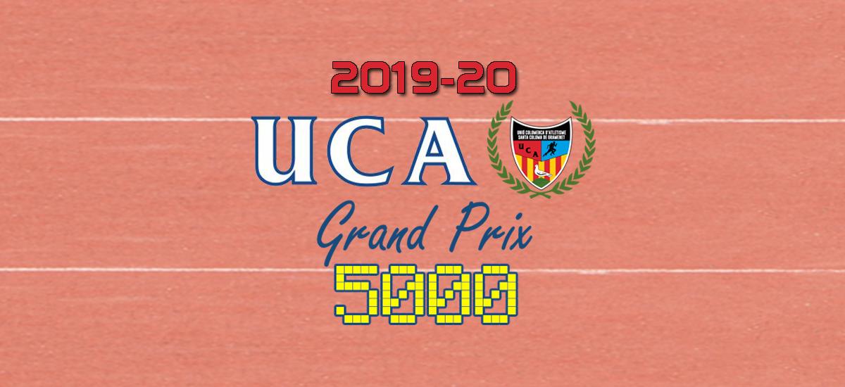 Classificació General Grand Prix 5000 Temporada 2019-2020