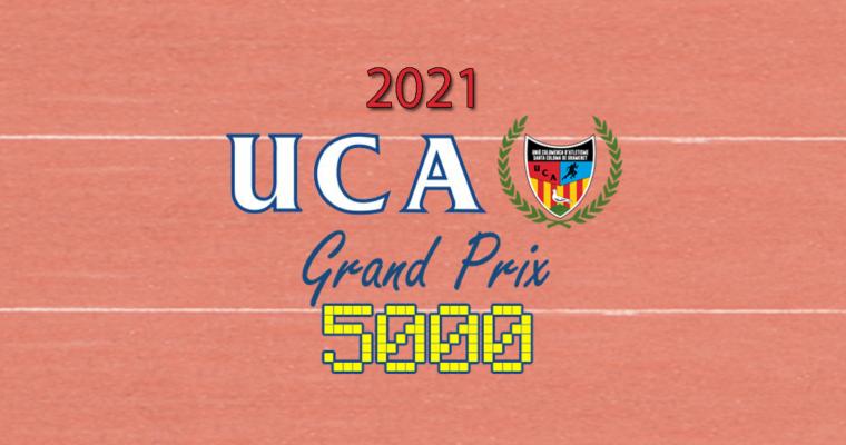 Classificació General Grand Prix 5000 Edició 2021